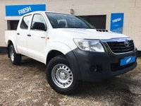 USED 2015 15 TOYOTA HILUX 2.5 ACTIVE 4X4 D-4D DCB