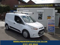 2014 FORD TRANSIT CONNECT 1.6 TURBO DEISEL, 200 TREND, SWB, FORD SYNC, BLUETOOTH, AIR CON, HIGH SPEC, FULL HISTORY, ONE OWNER VAN, RHINO ROOF BARS & POLE SHUT £6500.00