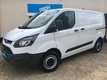 2016 FORD TRANSIT CUSTOM 2.2 290 L1H1 Panel Van  £12250.00