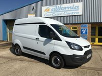 2014 FORD TRANSIT CUSTOM 2.2 290 LR  1d 99 BHP SWB HIGH ROOF £8195.00