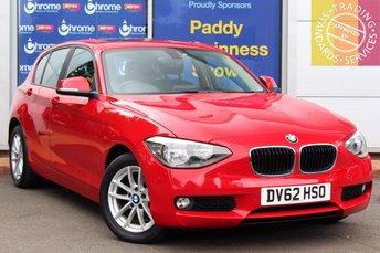 2012 BMW 1 SERIES 2.0 116D SE 5d 114 BHP £8575.00