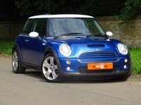USED 2005 55 MINI HATCH COOPER 1.6 COOPER S 3dr PANROOF PART LEATHER HUGE SPEC