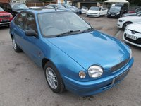 1999 TOYOTA COROLLA 1.6 GS 5d 105 BHP ONLY 44888 MILES !! + A/C + SPACIOUS £999.00