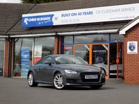 USED 2015 64 AUDI TT 2.0 TDi ULTRA SPORT 2dr 182 BHP * Virtual Cockpit & Sat Nav * *ONLY 9.9% APR with FREE Servicing*