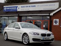 USED 2015 15 BMW 5 SERIES 2.0 520D SE 4dr AUTO 188 BHP *ONLY 9.9% APR with FREE Servicing*