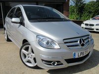 "USED 2011 11 MERCEDES-BENZ B CLASS 2.0 B180 CDI SPORT 5d 109 BHP HALF LEATHER, 18"" ALLOYS, AIR CON, PARKING SENSORS, FULL SERVICE HISTORY"