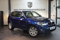 USED 2011 11 BMW X5 3.0 XDRIVE30D M SPORT 5DR AUTO 241 BHP + FULL LEATHER INTERIOR + FULL SERVICE HISTORY + 1 OWNER FROM NEW + PRO SATELLITE NAVIGATION + BLUETOOTH + HEATED SPORT SEATS WITH MEMORY + XENON LIGHTS + DAB RDAIO + CRUISE CONTROL + PARKING SENSORS + 19 INCH ALLOY WHEELS +