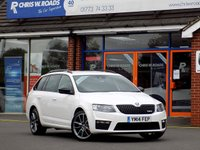 USED 2014 14 SKODA OCTAVIA 2.0 VRS TDi CR 5dr 181 BHP * Nav Leather & Black Pack * *ONLY 9.9% APR with FREE Servicing*