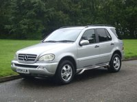 USED 2004 04 MERCEDES-BENZ M CLASS 2.7 ML270 CDI 5d AUTO 163 BHP