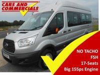 2015 FORD TRANSIT MINIBUS 460 L4 H3 17-Seats 155ps (No Tacho) £13750.00