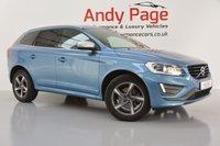 USED 2015 65 VOLVO XC60 2.4 D5 R-DESIGN LUX NAV AWD 5d AUTO 217 BHP