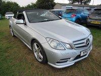 2012 MERCEDES-BENZ E CLASS 3.0 E350 CDI BLUEEFFICIENCY SPORT 2d AUTO 265 BHP £15995.00
