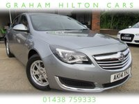 USED 2014 14 VAUXHALL INSIGNIA 2.0 DESIGN NAV CDTI ECOFLEX S/S 5d 138 BHP 1 OWNER, SAT NAV, ALLOYS, CRUISE CONTROL, MEDIA INTERFACE, PARKING SENSORS, FULL MAIN DEALER SERVICE HISTORY, SPARE KEY