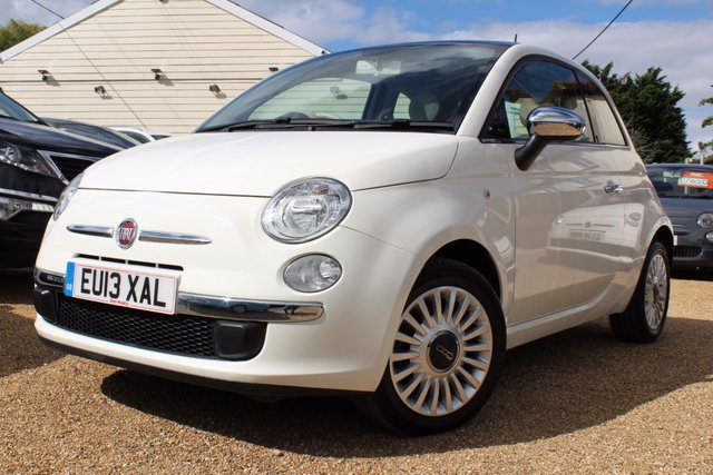 View our 2013 13 FIAT 500 1.2 LOUNGE 3d 69 BHP