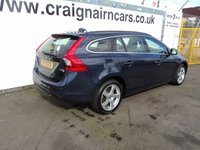 USED 2011 61 VOLVO V60 1.6 DRIVE SE S/S 5d 113 BHP Volvo Then One Lady Owner Full Service History