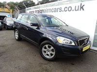 USED 2013 62 VOLVO XC60 2.4 D4 SE NAV AWD 5d 161 BHP Bluetooth+Navigation+Leather+Full Volvo History