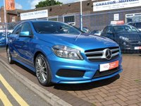 USED 2014 14 MERCEDES-BENZ A CLASS 1.5 A180 CDI BLUEEFFICIENCY AMG SPORT 5d FULL MERCEDES HISTORY ~ SATNAV ~ £4,000 OPTIONS ~ PRIVACY GLASS ~ CRUISE CONTROL ~ £20 ROAD TAX