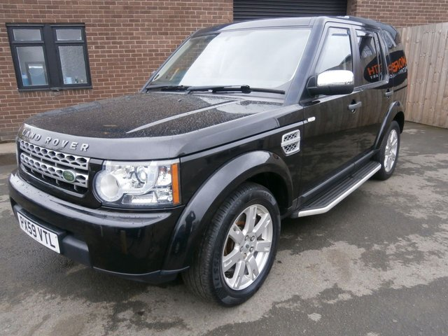 2009 59 LAND ROVER DISCOVERY 3.0 4 TDV6 GS 5d AUTO 245 BHP