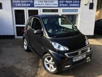 USED 2014 63 SMART FORTWO 1.0 EDITION 21 MHD 2d AUTO  9956 MILES FSH  ONE FAMILY OWNER  FREE TAX  EXCELLENT CONDITION