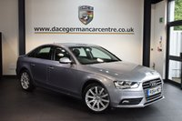 USED 2015 64 AUDI A4 2.0 TDI SE TECHNIK 4DR AUTO 174 BHP + FULL AUDI SERVICE HISTORY + FULL BLACK LEATHER INTERIOR + 1 OWNER FROM NEW + SATELLITE NAVIGATION + AUDI SERVICE HISTORY + BLUETOOTH + HEATED SPORT SEATS + DVD PLAYER + CRUISE CONTROL + PARKING SENSORS + 18 INCH ALLOY WHEELS +