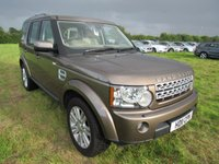 2011 LAND ROVER DISCOVERY 3.0 4 TDV6 HSE 5d AUTO 245 BHP £24995.00