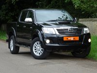 USED 2012 12 TOYOTA HI-LUX 3.0 INVINCIBLE 4X4 D-4D DCB 1d 169 BHP 1 FORMER KEEPER + ONLY 53K+ FSH
