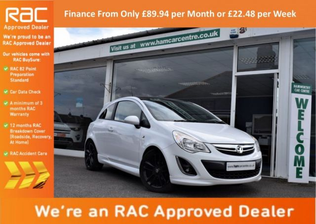 2011 61 VAUXHALL CORSA 1.2 LIMITED EDITION 3d 83 BHP