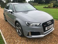 USED 2015 15 AUDI RS3 2.5 RS3 SPORTBACK QUATTRO 5d AUTO 362 BHP HEATED LEATHER, SATNAV, PARK ASSIST, BLUETOOTH