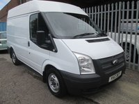 2012 FORD TRANSIT 280 SWB Medium high roof *ONE OWNER*AIR CON* £7995.00