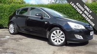 USED 2010 60 VAUXHALL ASTRA 2.0 ELITE CDTI 5d 157 BHP VERY HIGH SPEC INCLUDING FULL BLACK LEATHER INTERIOR, ONLY 62000 MILES, LOW ROAD TAX , GOOD CONDITION THROUGHOUT 6 Month PREMIUM Cover Warranty - 12 Month MOT (With No Advisories) - Fresh Oil &air Filter Service Included