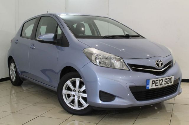 View our 2012 12 TOYOTA YARIS 1.0 VVT-I TR 5DR 68 BHP