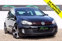 "USED 2010 10 VOLKSWAGEN GOLF 2.0 GTI 3d 210 BHP **£0 DEPOSIT FINANCE AVAILABLE**SECURE WITH A £99 FULLY REFUNDABLE DEPOSIT** FULL GTI LEATHER, HEATED FRONT SEATS, DUAL CLIMATE CONTROL, PRIVACY GLASS, 18"" MONZA SHADOW ALLOYS, TOUCH SCREEN HEAD UNIT, AUX INPUT, ELECTRIC WINDOWS & HEATED ELECTRIC WING MIRRORS, SUN ROOF, FULL VOLKSWAGEN DEALER HISTORY"