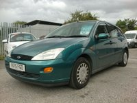 2000 FORD FOCUS 1.6 LX 5d 99 BHP £295.00