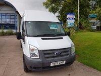 2013 FORD TRANSIT T350 2.2 LWB H/R 1d  £6650.00