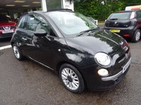 USED 2015 64 FIAT 500 0.9 TWINAIR CONVERTIBLE LOUNGE 3d 85 BHP Fiat Service History + Just Serviced by ourselves, MOT until September 2018 (no advisories), One Previous Owner, Excellent on fuel! FREE Road Tax! Convertible