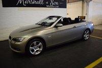 2008 BMW 3 SERIES 2.0 320I SE 2d 168 BHP CONVERTIBLE £5899.00