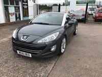 USED 2011 61 PEUGEOT RCZ 1.6 THP GT 2d 156 BHP 1 Owner-Leather-Alloy Wheels-Parking Aid Front/Rear