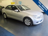 USED 2010 60 MERCEDES-BENZ C CLASS 1.8 C180 CGI BLUEEFFICIENCY EXECUTIVE SE 4d AUTO 156 BHP GREAT SPEC INCLUDING FULL LEATHER, NAV, HEATED SEATS,