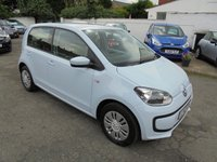 USED 2012 12 VOLKSWAGEN UP 1.0 MOVE UP 5d 59 BHP