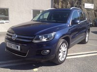 2012 VOLKSWAGEN TIGUAN 2.0 SE TDI BLUEMOTION TECHNOLOGY 4MOTION 5d 138 BHP £7995.00