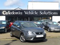 USED 2014 64 SEAT IBIZA 1.2 TSI I-TECH 3d 104 BHP ONE OWNER FROM NEW with SERVICE HISTORY & 12 MONTHS MOT
