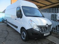 2015 RENAULT MASTER LHL35 BUSINESS ENERGY XLWB Extra High roof 135 BHP RWD £12995.00