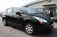USED 2010 10 PEUGEOT 5008 1.6 ACTIVE 5d 120 BHP LOW DEPOSIT OR NO DEPOSIT FINANCE AVAILABLE.