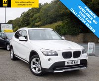 USED 2010 10 BMW X1 2.0 XDRIVE20D SE 5d 174 BHP BEAUTIFUL CAR WITH EXCELLENT SERVICE HISTORY, AND LONG MOT UNTIL 06/2018, DUAL CLIMATE CONTROL, STOP/START, FRONT CENTRE ARM REST!