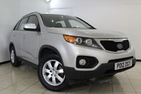 USED 2012 12 KIA SORENTO 2.0 CRDI 1 5DR 148 BHP FULL SERVICE HISTORY + 0% FINANCE AVAILABLE T&C'S APPLY + 7 SEATS + AIR CONDITIONING  + ELECTRIC WINDOWS + CENTRAL LOCKING + 17 INCH ALLOY WHEELS
