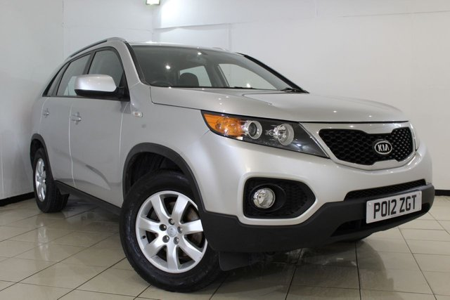 View our 2012 12 KIA SORENTO 2.0 CRDI 1 5DR 148 BHP