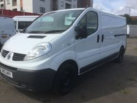 2012 RENAULT TRAFIC 2.0 LL29 DCI S/R 1d 115 BHP £6900.00