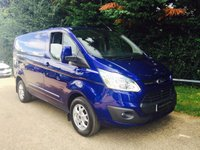 USED 2014 64 FORD TRANSIT CUSTOM 2.2 290 LIMITED LR P/V 1d 153 BHP High Spec! Low Mileage! Still Under Manufacturers Warranty!