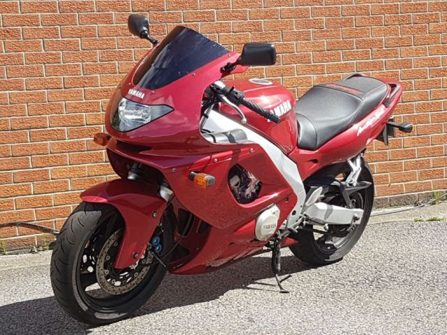 1999 T YAMAHA YZF 599cc YZF 600 R THUNDER CAT
