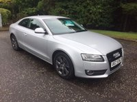 USED 2008 08 AUDI A5 3.0 TDI QUATTRO 3dr AUTO 240 BHP 6 MONTHS PARTS+ LABOUR WARRANTY+AA COVER